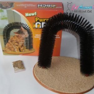 Purrfect Arch Cat Self-Groomer and Massager