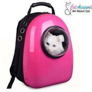 กระเป๋าแคปซูลแมวอวกาศ วัสดุ PC