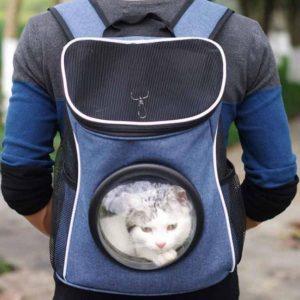 กระเป๋าใส่แมวแคปซูลอวกาศ