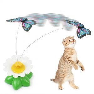 ของเล่นแมว ผีเสื้อบิน