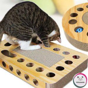ของเล่นแมว ที่ลับเล็บแมวกล่องยาว