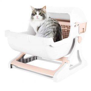 ห้องน้ำแมวคันโยก